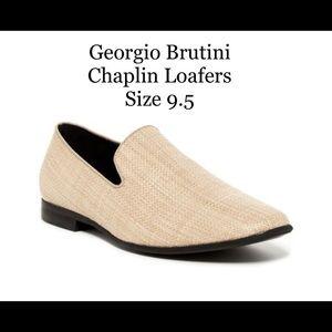 Georgio Brutini Chaplin Weave loafers